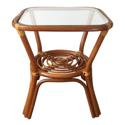 Helena Rattan Coffee Table Finish: Light Brown