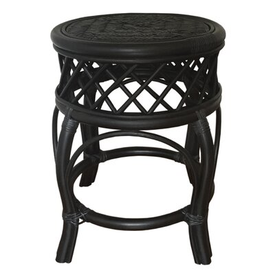 Mary Rattan Wicker Stool