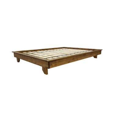 Ava Solid Wood Platform Bed Size: Extra-long Twin, Color: Provincial