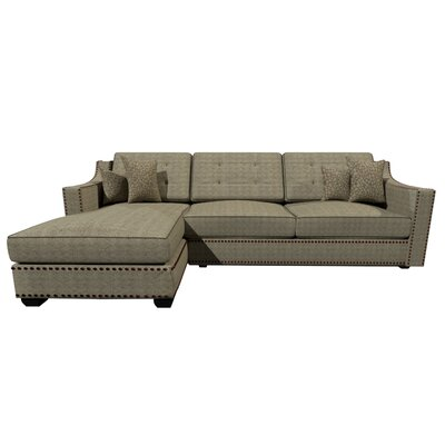 Lambert Sectional Upholstery : Coconut Olive