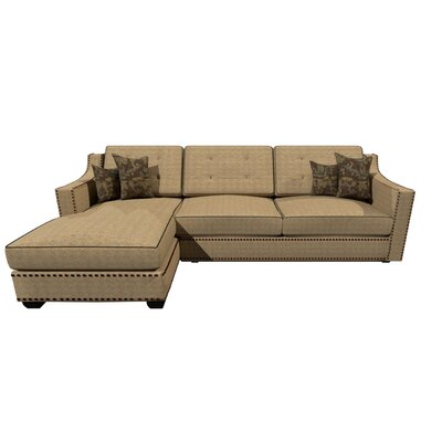 Lambert Sectional Upholstery : Coconut Conffetive