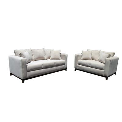 Hillcrest 2 Piece Living Room Set