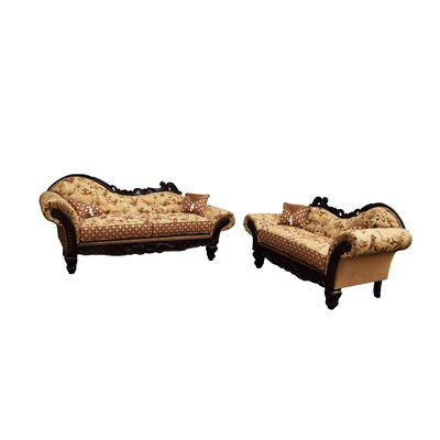 Monte Cristo Sofa and Loveseat Set
