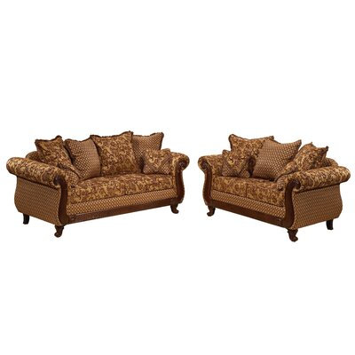 Glacier Sofa and Loveseat Set