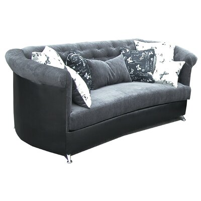 Tuxedo Sofa and Loveseat Set