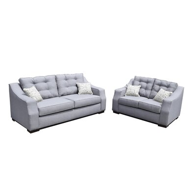 Cloe Sofa and Loveseat Set