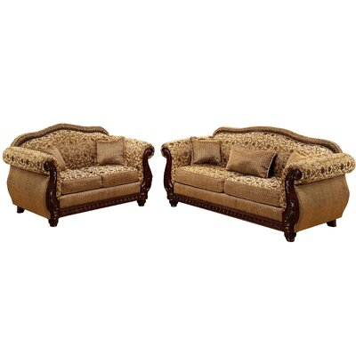 New England Sofa and Loveseat Set