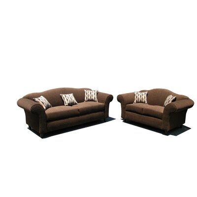 Eva 2 Piece Living Room Set