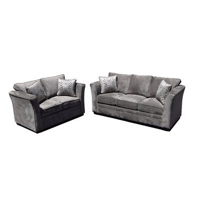 Gorden 2 Piece Living Room Set