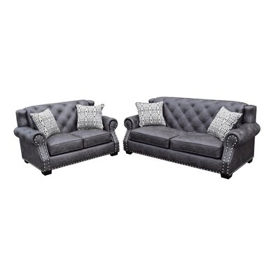 Fredo 2 Piece Living Room Set