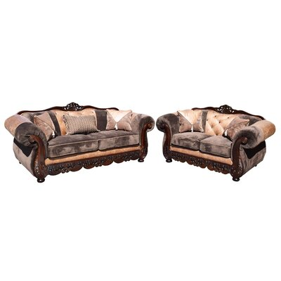 Savanah Sofa and Loveseat Set