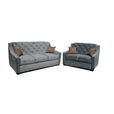 Ruby 2 Piece Living Room Set