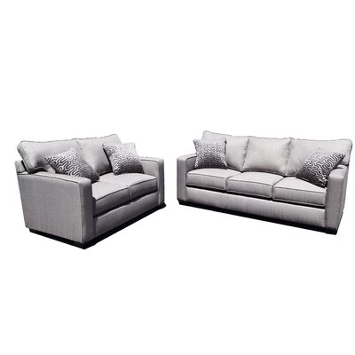 Oxford 2 Piece Living Room Set