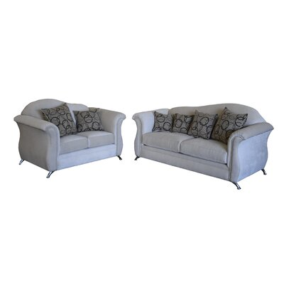 Ricky 2 Piece Living Room Set