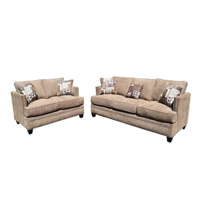 Milky Way Sofa and Loveseat Set