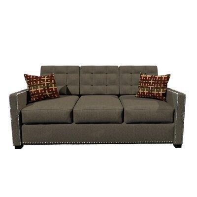 Bakerstown Foam Sofa Upholstery: Dark