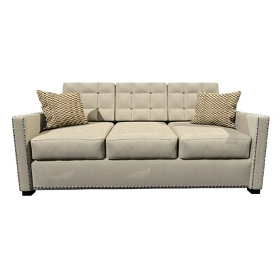 Bakerstown Foam Sofa Upholstery: Light Beige