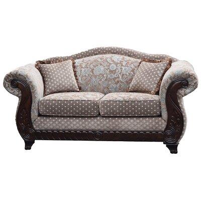 Sedona Loveseat Upholstery: Brown
