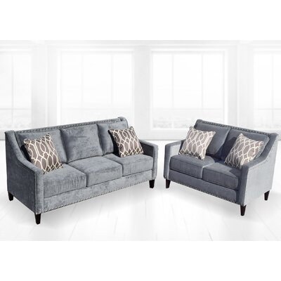 Mervela 2 Piece Living Room Set