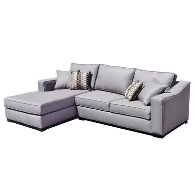 Brygon Creek Sectional Upholstery: Gray
