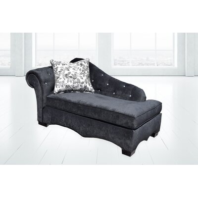 Stanley Chaise Lounge Upholstery: Jeopardy Navy