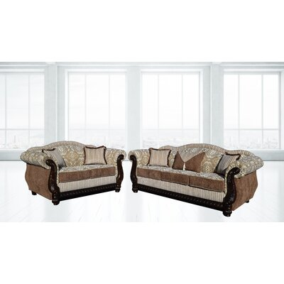 Auden Sofa and Loveseat Set