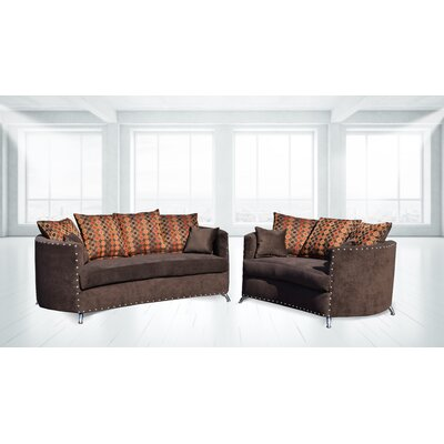 Burtville 2 Piece Living Room Set