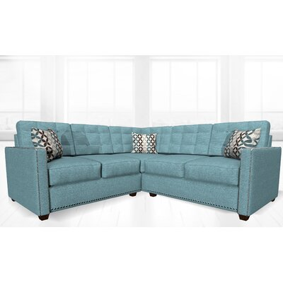 McEwan Sectional Upholstery: Green