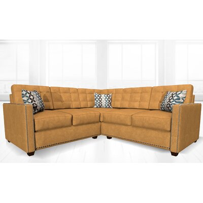 McEwan Sectional Upholstery: Orange
