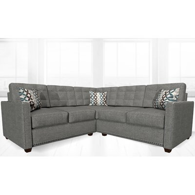 McEwan Sectional Upholstery: Flannel Gray