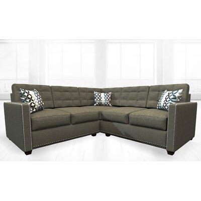 McEwan Sectional Upholstery: Revere Pewter