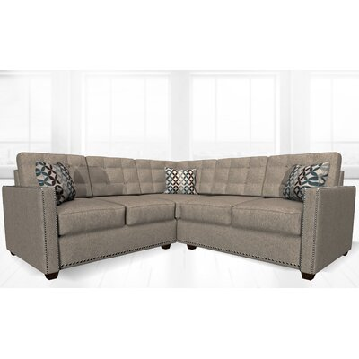 McEwan Sectional Upholstery: Toasty Gray