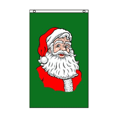 Santa Claus Traditional Flag HPF-SANTACLAUS