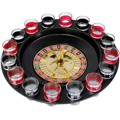 Glass Roulette Drinking Game 5216-WAFA