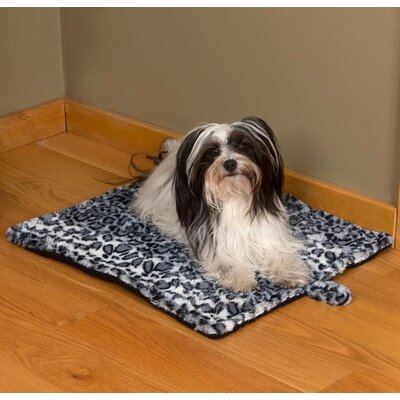 Soft Self Heating Cheetah Pet Pad