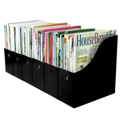 File Holder with Adhesive Labels
