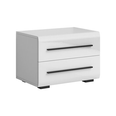 Elliott 2 Drawer Nightstand