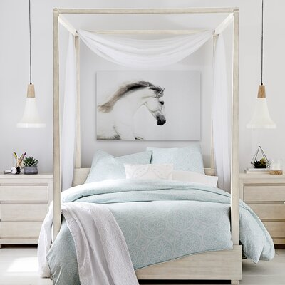 Indio Canopy Bed Size: Full