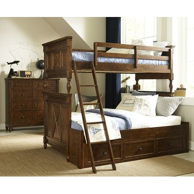 Big Sur By Wendy Bellissimo Twin over Full Bunk Bed