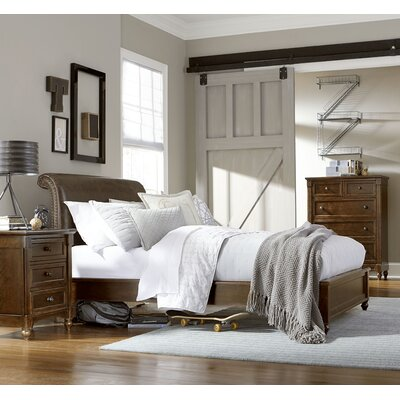 Big Sur By Wendy Bellissimo Sleigh Bed Size: Twin
