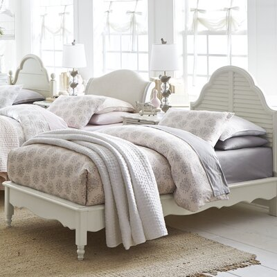 Inspirations by Wendy Bellissimo Catalina Platform Bed Size: Twin, Color: Morning Mist Grey
