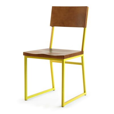 Ryan Side Chair Finish: Yellow