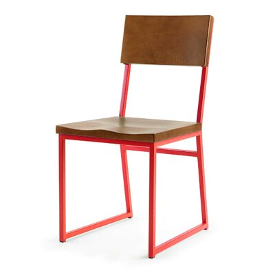Ryan Side Chair Finish: Red