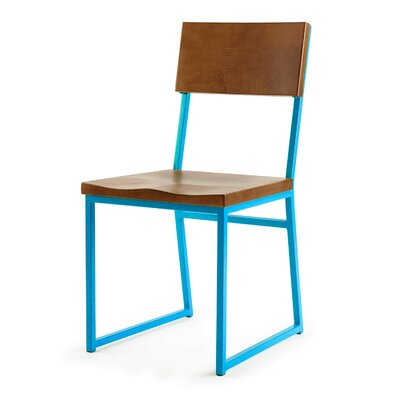 Ryan Side Chair Finish: Blue