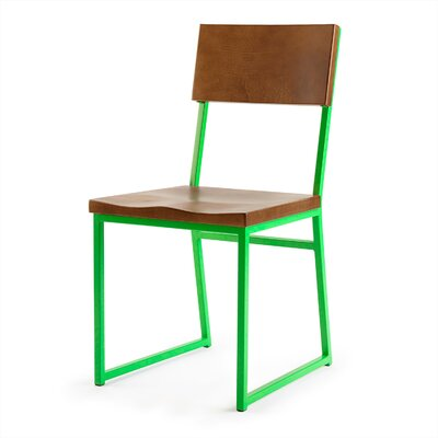Ryan Side Chair Finish: Green
