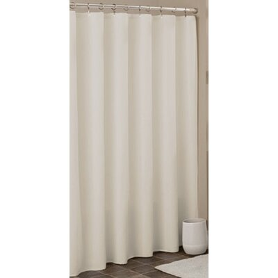 Heavy Duty Shower Liner Color: Beige