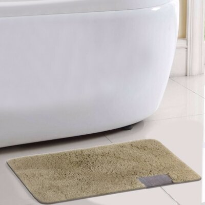 Ibiza Bath Rug Color: Beige