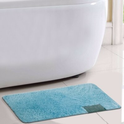 Ibiza Bath Rug Color: Blue