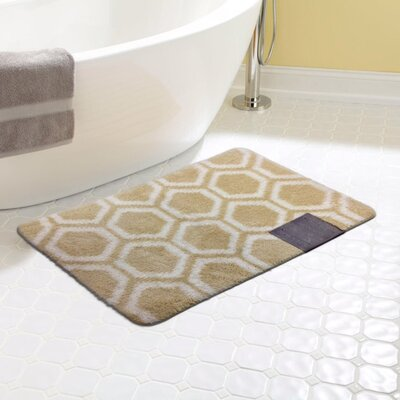 Monaco Bath Rug Color: Beige