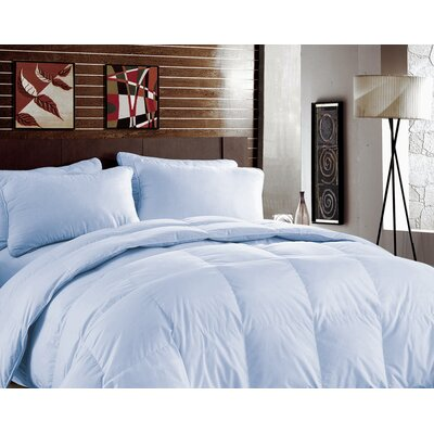 Bamboo Heavyweight Down Alternative Comforter Color: Blue Bell